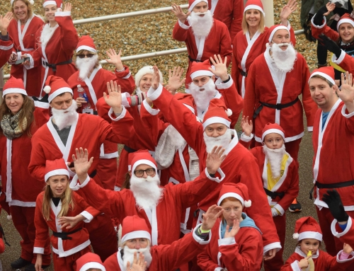 The 2019 Bexhill Lions Santa Dash