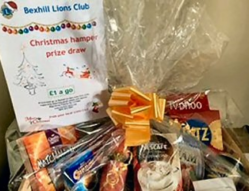 LIONS ANNUAL HAMPER DRAW FINISHED