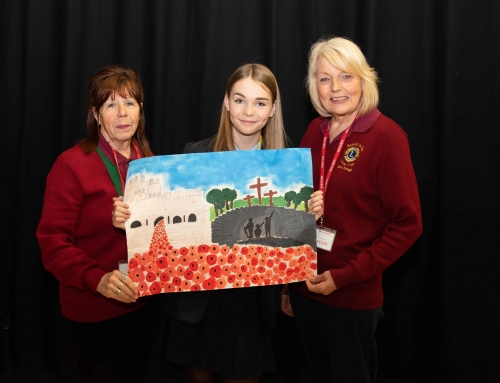 LIONS PEACE POSTER COMPETITION – 2 LOCAL SCHOOLS IN 1ST AND 2ND PLACE