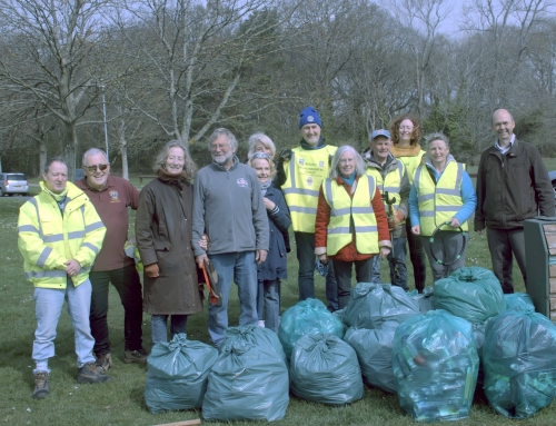 "Bexhill Lions JOIN ""BEG"" IN LITTER WAR"