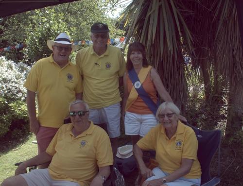 Lions support Mais House Summer Fete