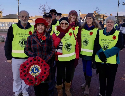 Lions Marshal Bexhill Remembrance Parade