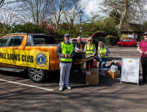 Lions help to De-Clutter and Help Charities